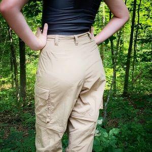 Eastern Mountain Sports convertible hiking pants